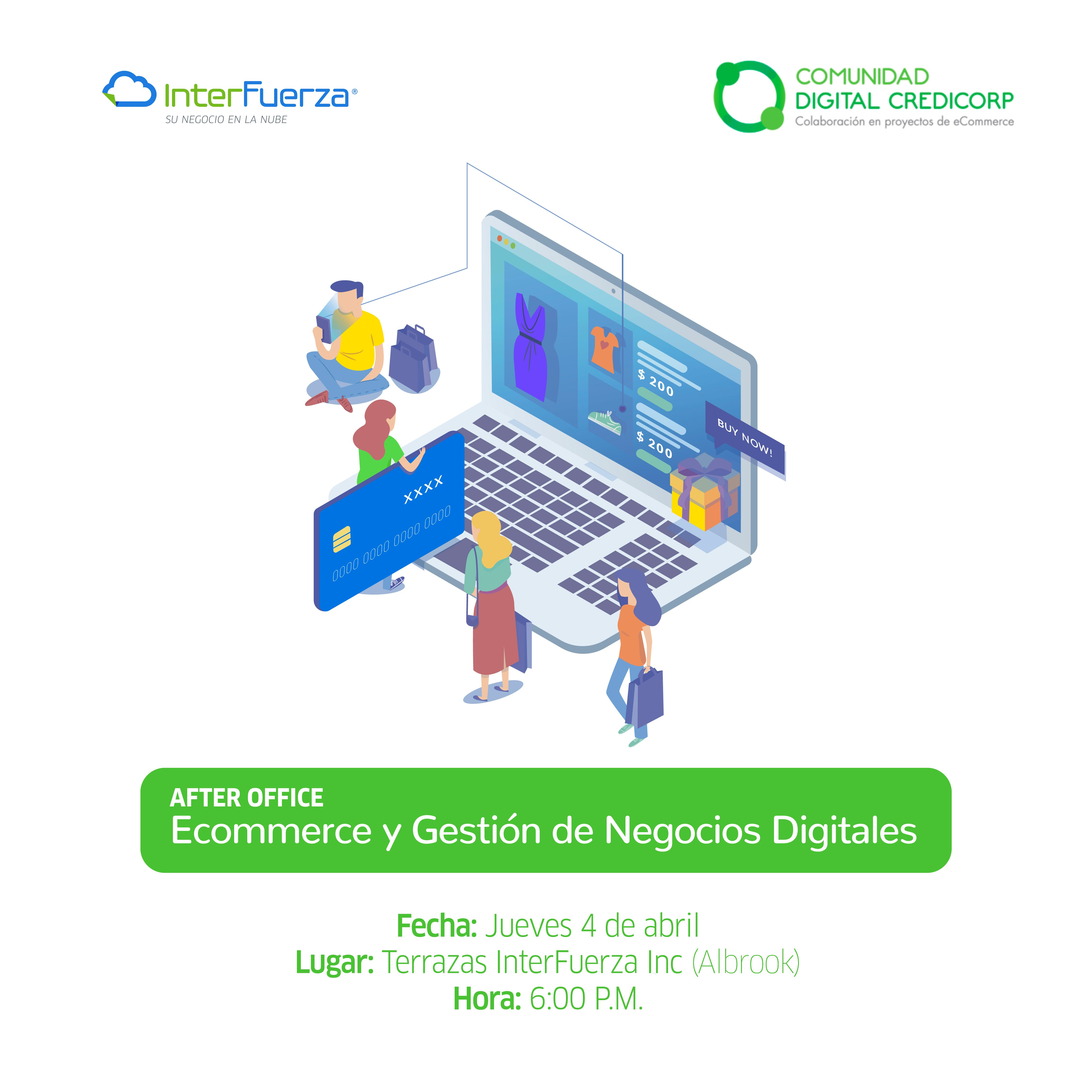 Ecommerce and Digital Business Management Thursday April 4th at 6:00 PM